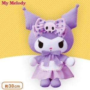 My Melody Girly Purple BIG Plushie Kuromi